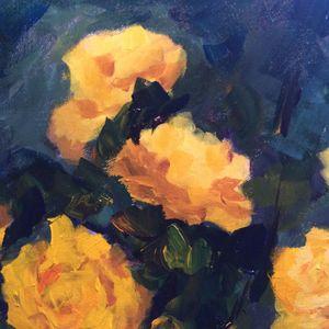 Rose 5 - Ramya Oil Paintings