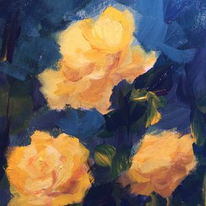 Rose 6 - Ramya Oil Paintings
