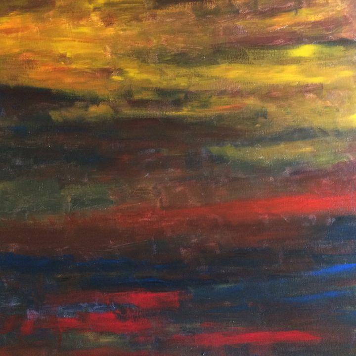 Morning Saga - Ramya Oil Paintings