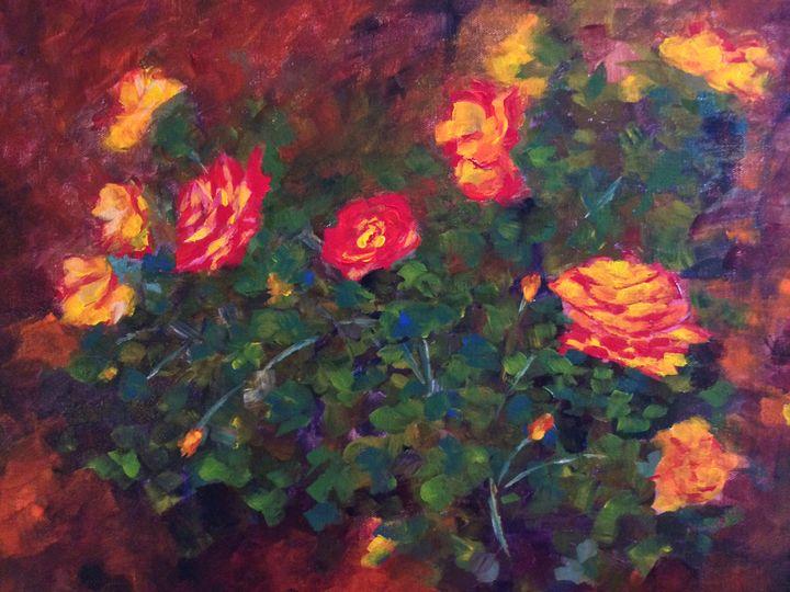 Morning Glory - Ramya Oil Paintings