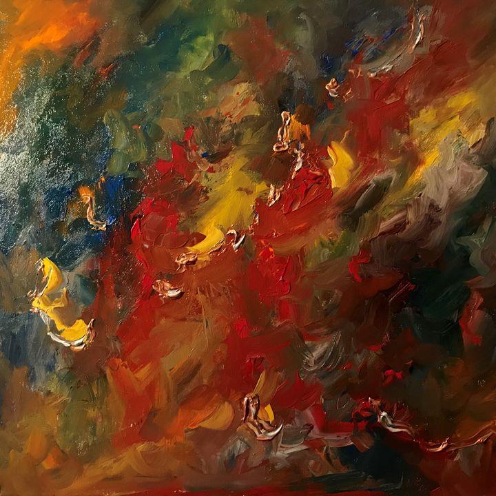 Reef - Ramya Oil Paintings