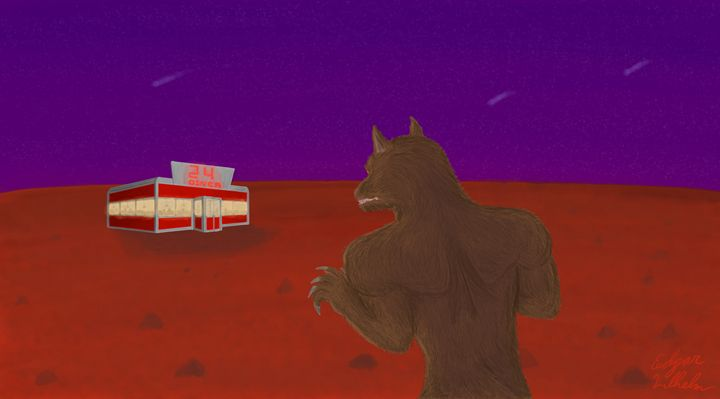 Martian Dreamscape - Edgar Vilhelm
