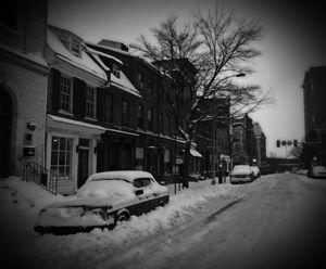 Snow in Olde City