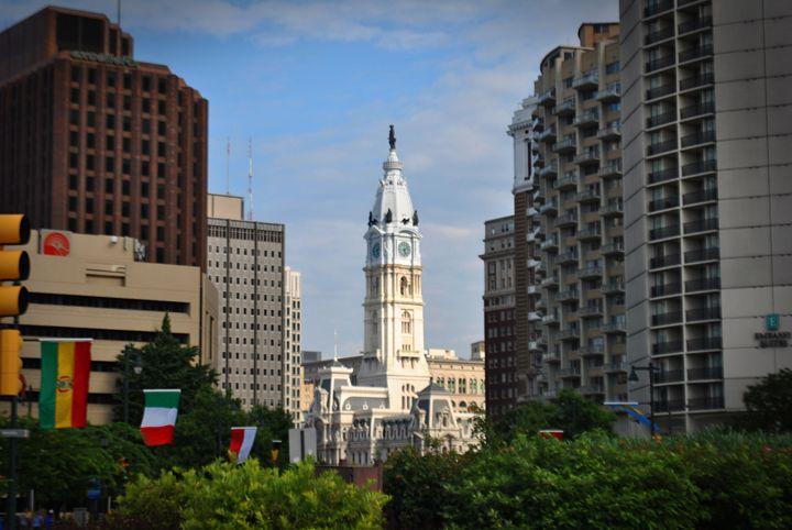 City Hall From Afar - Edgar Vilhelm