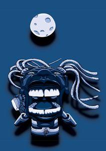 Scream Cyber (Blue)