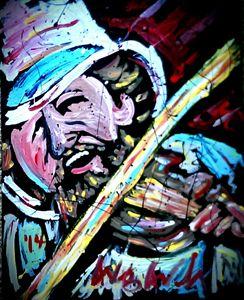 Charlie Daniels 16x20 Painting