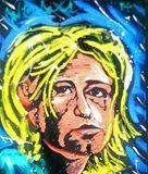Kurt Cobain Nirvana 16x20 Painting