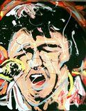 Elvis Presley 16x20 MOA Painting