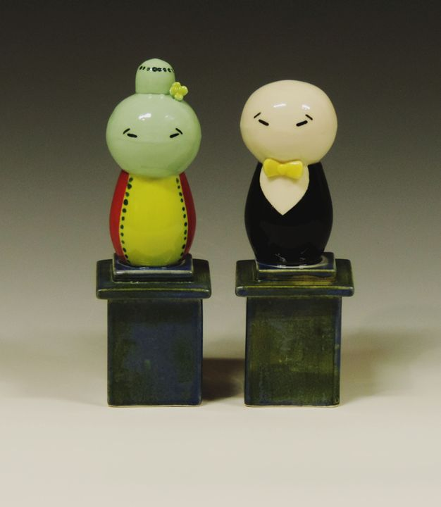 Couple 5 - Ceramics by JOCL