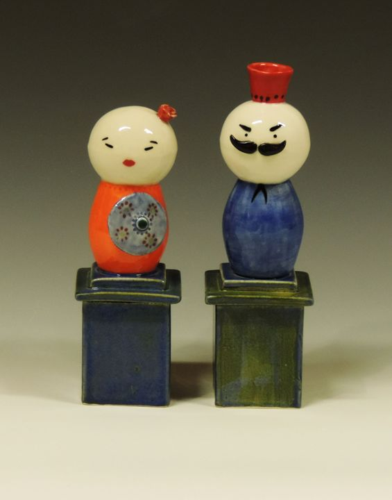 Couple 2 - Ceramics by JOCL