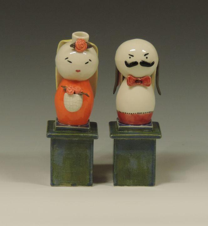 Couple 1 - Ceramics by JOCL