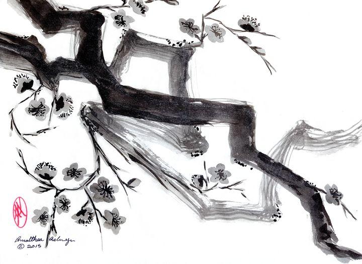 Cherry Blossoms - Aelwyn Studios