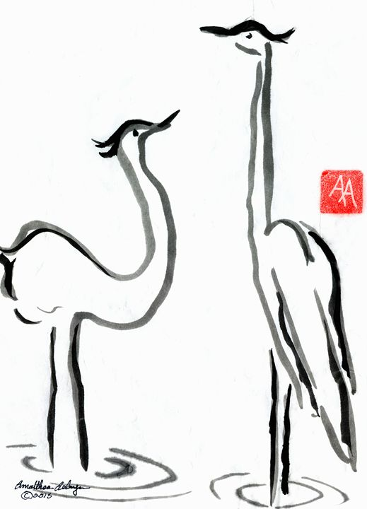 Silence of Cranes - Aelwyn Studios