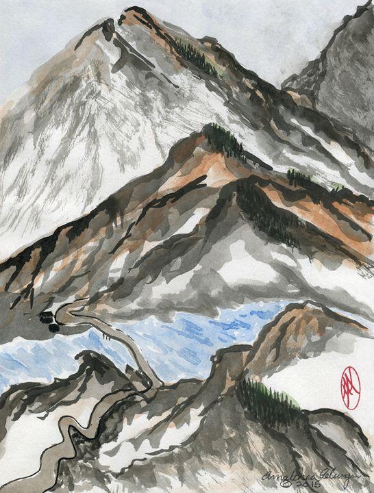 Mountain Path - Aelwyn Studios