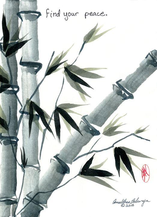 Peace Bamboo - Aelwyn Studios