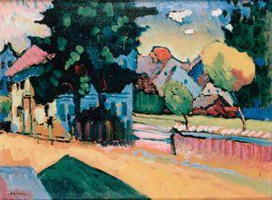 View of Murnau,1908