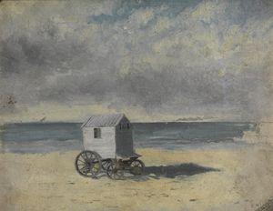 James Ensor - Bathing Hut,1876