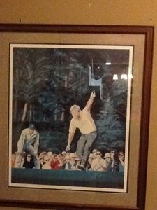 """Signed """"golden moments"""" Masters Golf"""