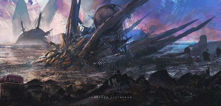 Junkyard Leviathan - Novaillusion