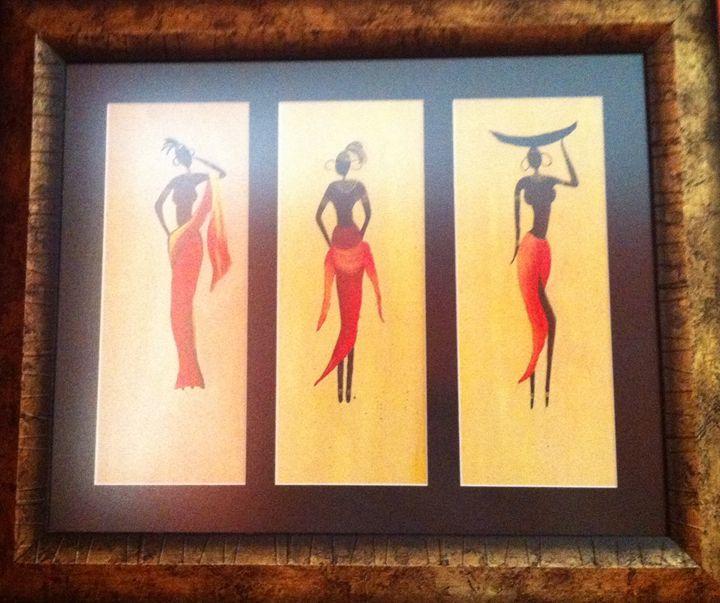 African ladies - KS1998