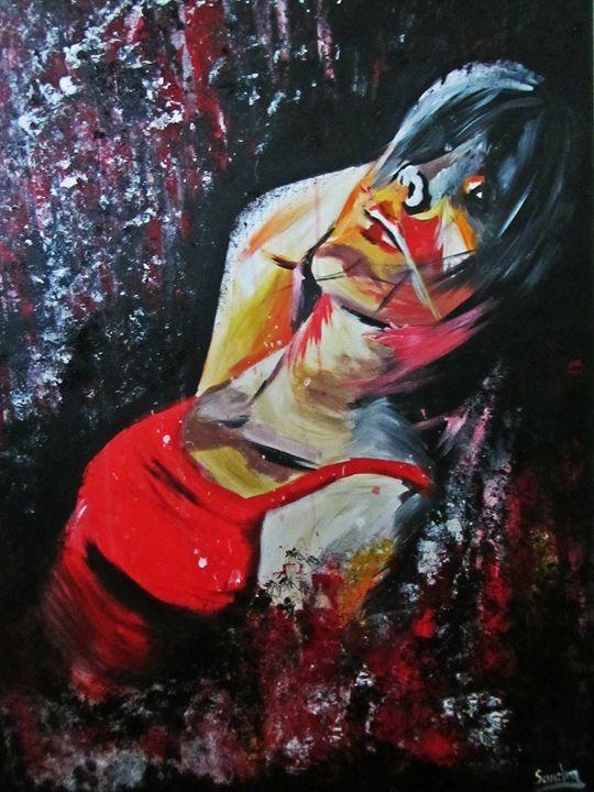 Abstract Portrait - Sandra Mickiewicz