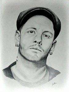 Portrait of Corey Taylor