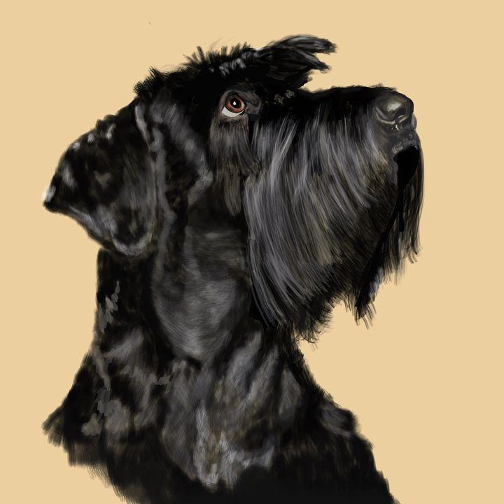 Scottish Terrier - Dogone Art