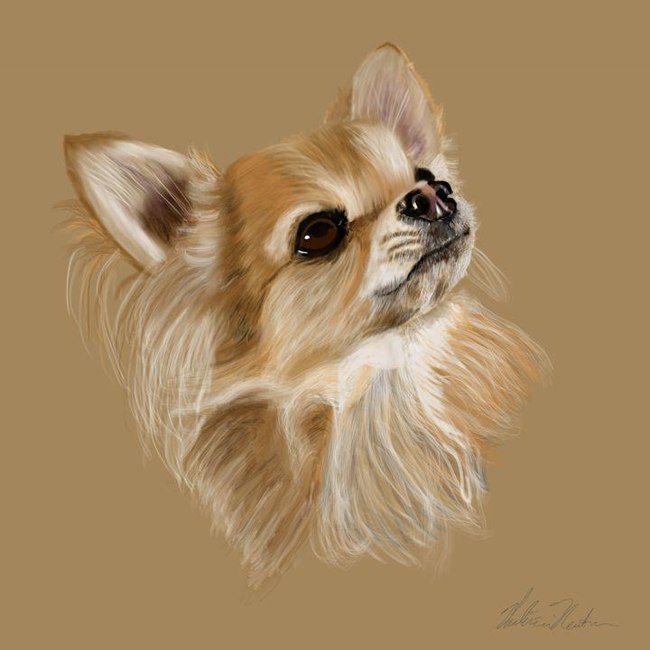 Chihuahua Portrait - Dogone Art