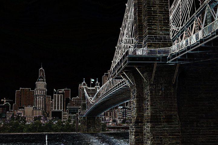 Bridge into Ohio - Rebecca J. Frank