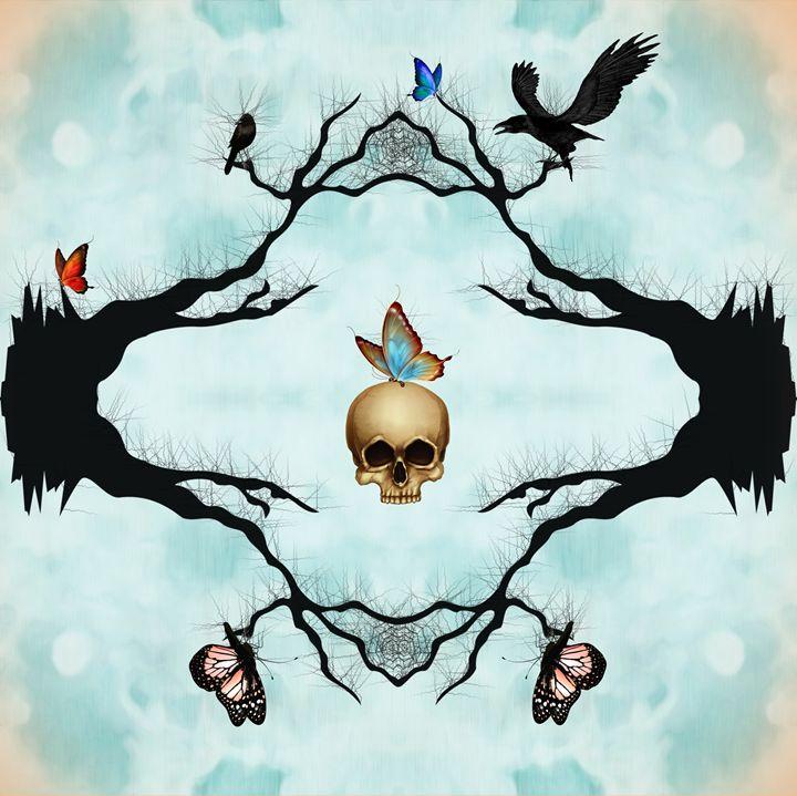 Death & Butterflies - DreamBeyondArt