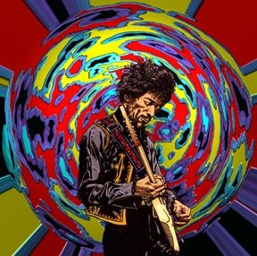 Jimi Hendrix Globe