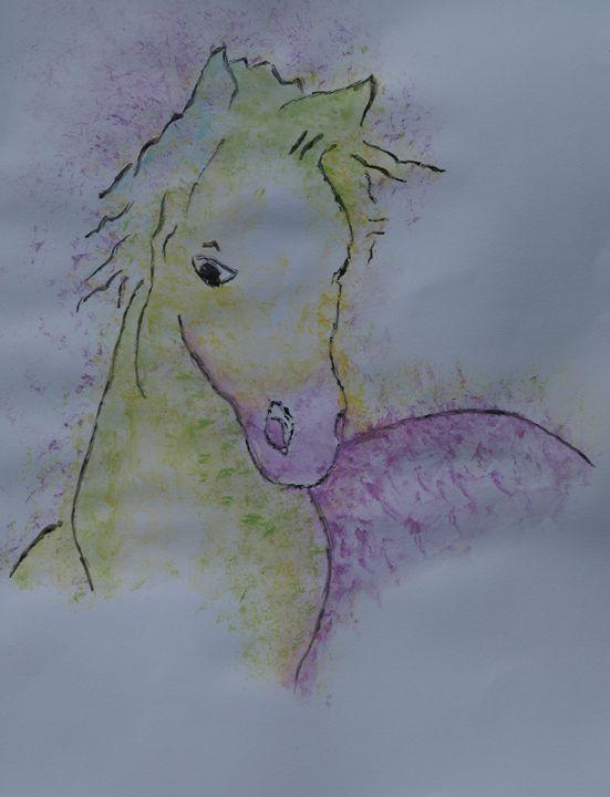 Portrait of a horse - crina