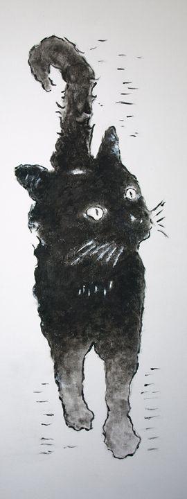 Black Cat - crina