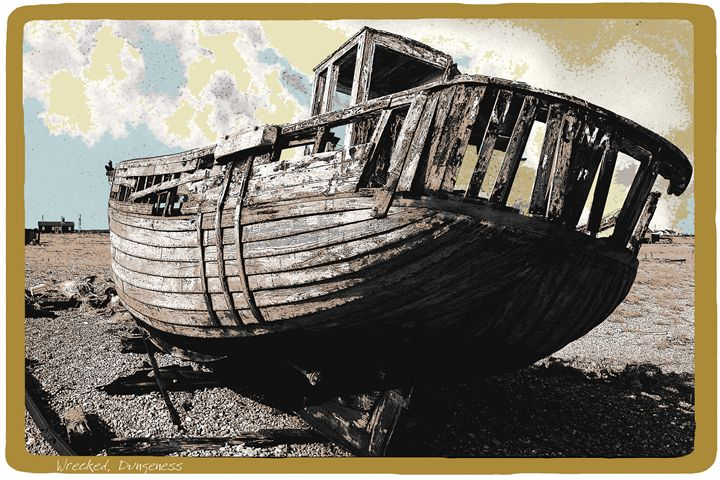 Wrecked Dungeness - Lighthouse Publishing