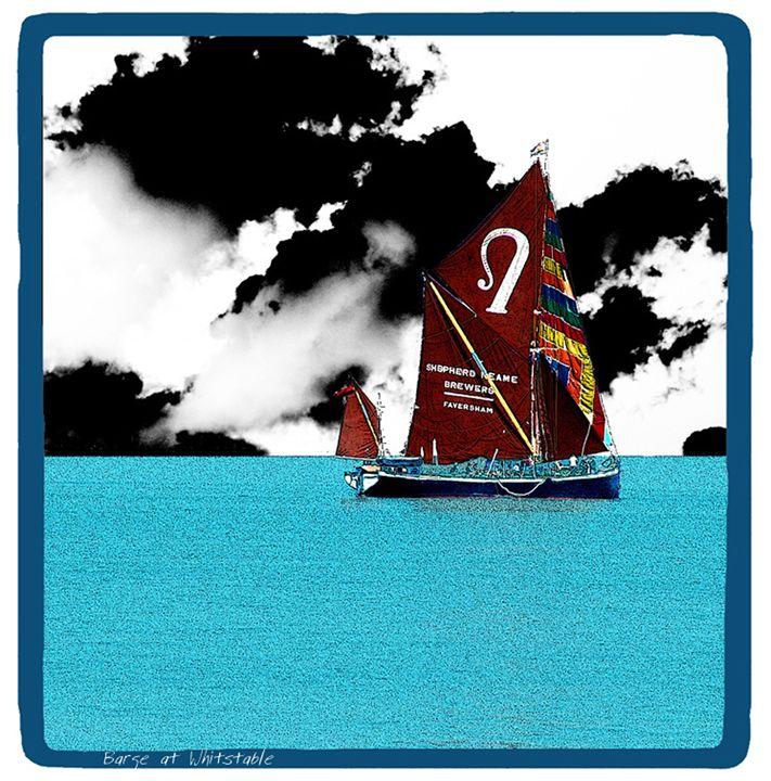 Barge at Whitstable - Lighthouse Publishing