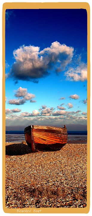 Beached Boat - Lighthouse Publishing