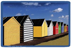 Beach Huts Herne Bay