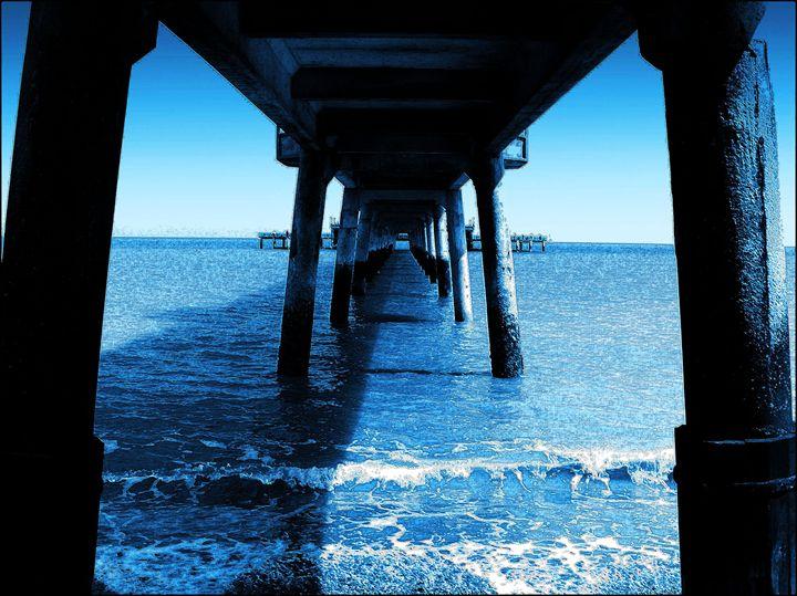 Blue Pier - Lighthouse Publishing