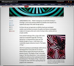 About the artist Albuquerque Journal