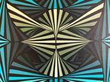 Original Eagle Geometric Painting