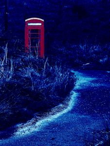 Phone Box Blue