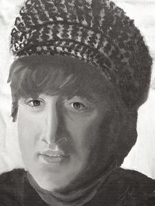 John Lennon Black & White