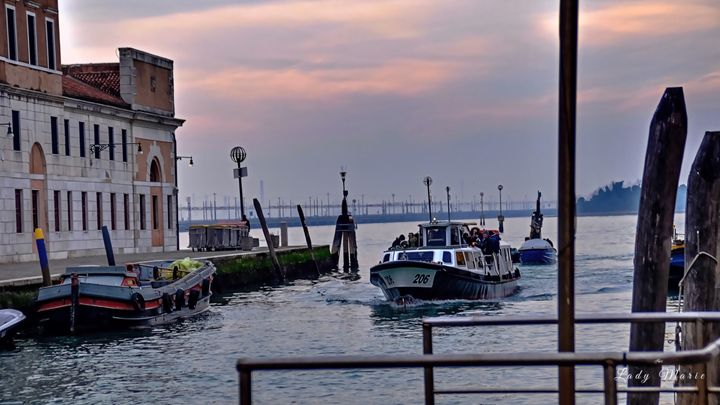 WATER TAXING THROUGH VENICE - Lady Marie