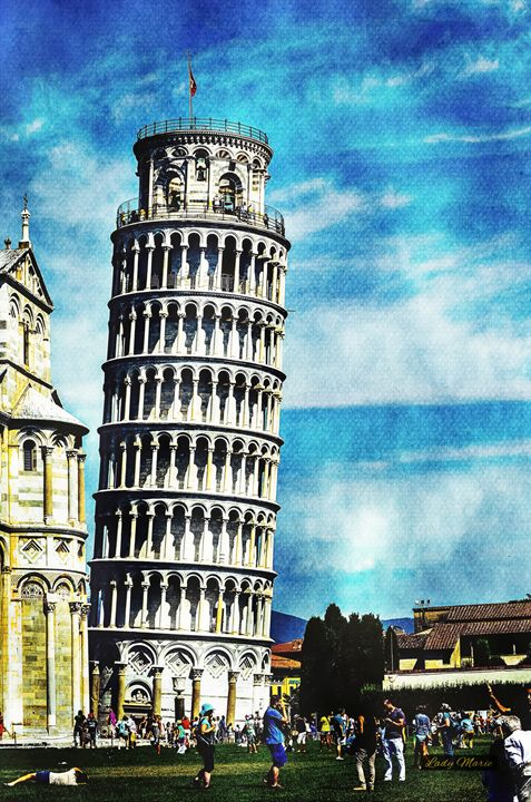 LEANING TOWER OF PISA - Lady Marie