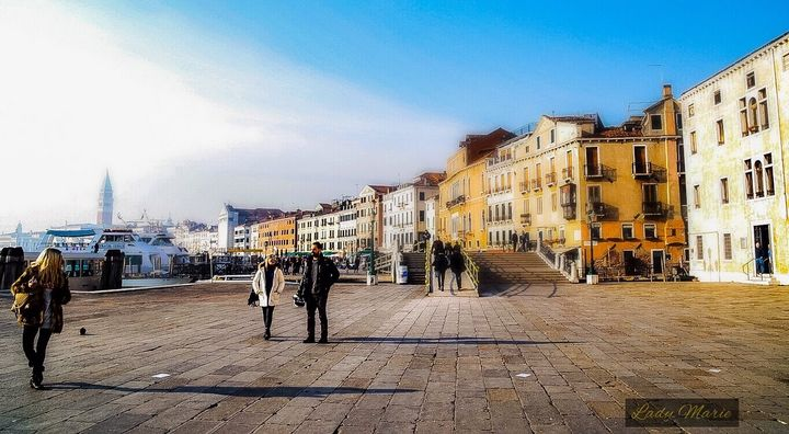 Winter in Venice, Italy - Lady Marie