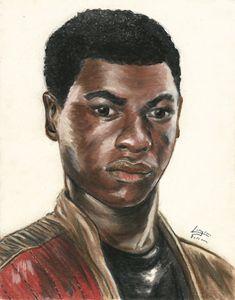 John Boyega as Finn from Star Wars