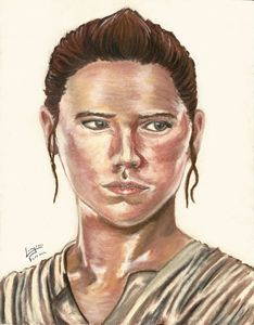 Daisy Ridley as Rey from Star Wars