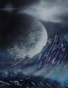 Moon Light Mountain #1