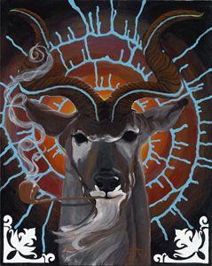 Bruth the Spiral Horned Kudu