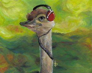 Sweet Pam the Jam Ostrich